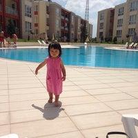 Photo taken at Vefakent Gülbahce Havuz by Esra K. on 7/6/2014