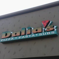 Photo taken at Dalia's Pizza, Pasta and Subs by Leonard Jp M. on 6/6/2013
