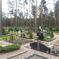 Photo taken at Kairėnų kapinės by Linas L. on 6/21/2014