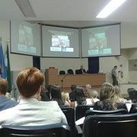 Photo taken at Faculdade de Medicina de Ribeirão Preto (FMRP/ USP) by Lucas S. on 6/10/2015