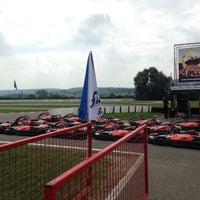 Photo taken at Karting des Fagnes by Stijn v. on 7/26/2014