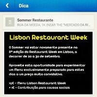 Foto tirada no(a) Sommer Restaurante por Ana P. em 9/19/2012