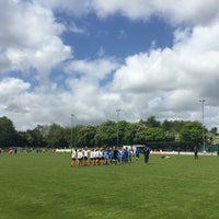Photo taken at Trafford FC by Tristan C. on 5/16/2015