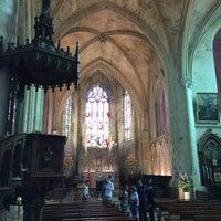 Photo taken at Église Monolithe by Frédéric D. on 8/15/2017