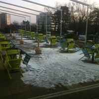 Photo taken at P&G Ground Floor Terrace by Fabio M. on 1/17/2013