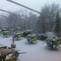 Photo taken at P&G Ground Floor Terrace by Fabio M. on 1/15/2013