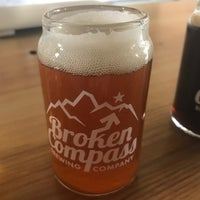 Photo taken at Broken Compass Brewing by Evan W. on 2/4/2017