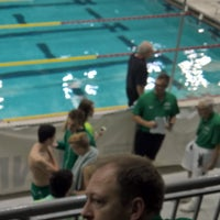 Photo taken at University Aquatic Center by Tyler R. on 1/30/2016