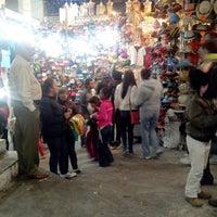 Photo taken at Mercado de Los Hippies Quetzalcoatl by Carlos V. on 10/28/2013