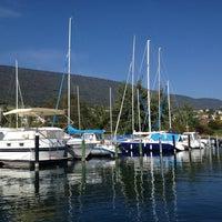 Photo taken at Port de St-Blaise by Erdinç D. on 9/27/2014
