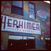 Photo taken at The Herkimer Pub & Brewery by Janis B. on 2/2/2013