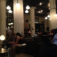 Photo taken at Ace Hotel Lobby Bar by Nami C. on 6/24/2013