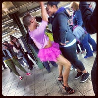 Photo taken at MTA Subway - 14th St/Union Square (4/5/6/L/N/Q/R/W) by Munira A. on 5/7/2013