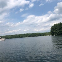 Photo taken at Woodridge Lake by Kathy D. on 7/14/2018