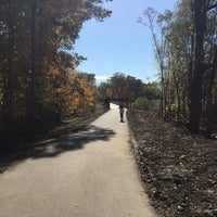 Photo taken at Caldwell Woods Bicycle Trail (North Branch Trail) by Greg J. on 10/23/2016