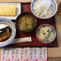 Photo taken at 松原新堂食堂 by Jungee 1. on 8/1/2014