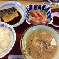 Photo taken at 松原新堂食堂 by Jungee 1. on 9/9/2014