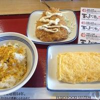 Photo taken at 松原新堂食堂 by Jungee 1. on 10/25/2014