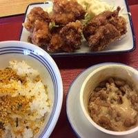 Photo taken at 松原新堂食堂 by Jungee 1. on 10/15/2014