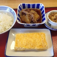 Photo taken at 松原新堂食堂 by Jungee 1. on 10/31/2014