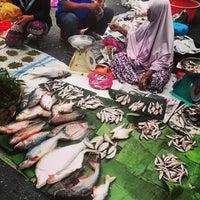 Photo taken at Pasar Pagi by Hayme I. on 1/26/2014