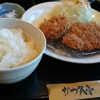 Photo taken at とんかつ かつ久亭 by Naoki M. on 7/2/2014