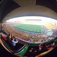 Photo taken at Estadio Morelos VIP by Pablo S. on 4/30/2017