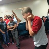 Photo taken at Grace Baptist Church by Elizabeth W. on 8/12/2015