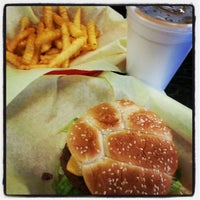 Photo taken at Sandy Burger by Troy P. on 4/9/2013