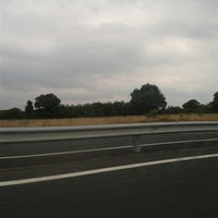 Photo taken at Autoroute A87 by Fabienne B. on 7/29/2014