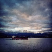 Photo taken at Black Ball Victoria Ferry by Anthony A. on 12/27/2012