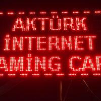 Photo taken at Aktürk İnternet Cafe by Tamer A. on 11/11/2017