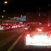 Photo taken at Al Ittihad Rd by Feryal Y. on 2/16/2014