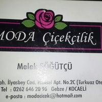 Das Foto wurde bei Moda Çiçekçilik von Ahmet Ç. am 2/20/2014 aufgenommen