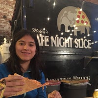 Photo taken at Late Night Slice by Jude D. on 4/29/2015