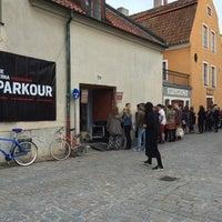 Photo taken at Visby Glasblåseri by Veronica B. on 7/3/2014
