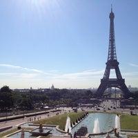 Photo prise au Jardins du Trocadéro par Steve H. le7/24/2012