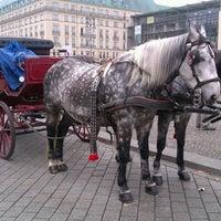 Photo taken at Pariser Platz by Zoltán O. on 10/25/2012