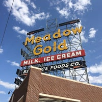 Photo taken at Meadow Gold Sign by Shane M. on 9/1/2014