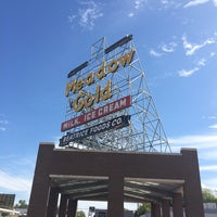 Photo taken at Meadow Gold Sign by Shane M. on 10/18/2014