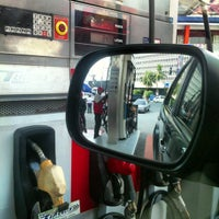 Photo taken at Petron by mugs c. on 10/15/2012