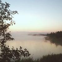 Photo taken at Озеро Інженерне, Яворівський полігон by Ivan A. on 10/5/2014