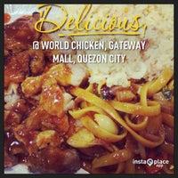 Photo taken at World Of Chicken (JAP) by Celeste A. on 2/14/2013