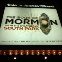 Снимок сделан в CIBC Theatre пользователем Jeff M. 12/23/2012