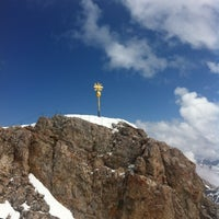 Photo taken at Zugspitze (2962m) by Richard B. on 5/3/2013