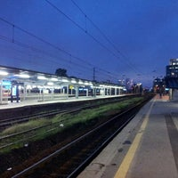 Photo taken at Warsaw West Railway Station by Mateusz on 6/4/2013