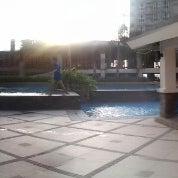 Photo taken at Gateway Regency Swimming Pool by Celine B. on 12/18/2013