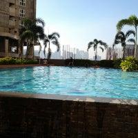 Photo taken at Gateway Regency Swimming Pool by Celine B. on 12/30/2013