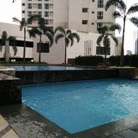 Photo taken at Gateway Regency Swimming Pool by Celine B. on 12/27/2014