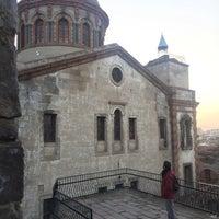 Photo taken at Panaya Rum Kilisesi by Nurettin T. on 2/11/2018